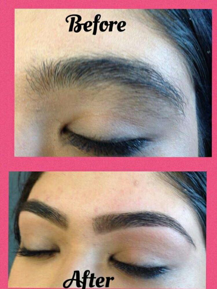 Threading Unique Eyebrow Threading